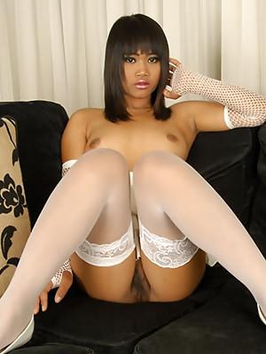 Cute Kanda spreading her legs
